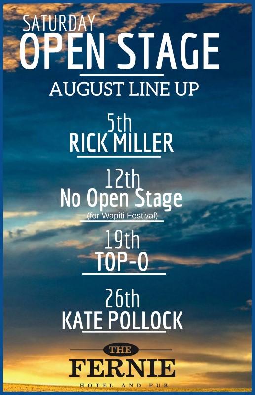 Aug 2017 lineup