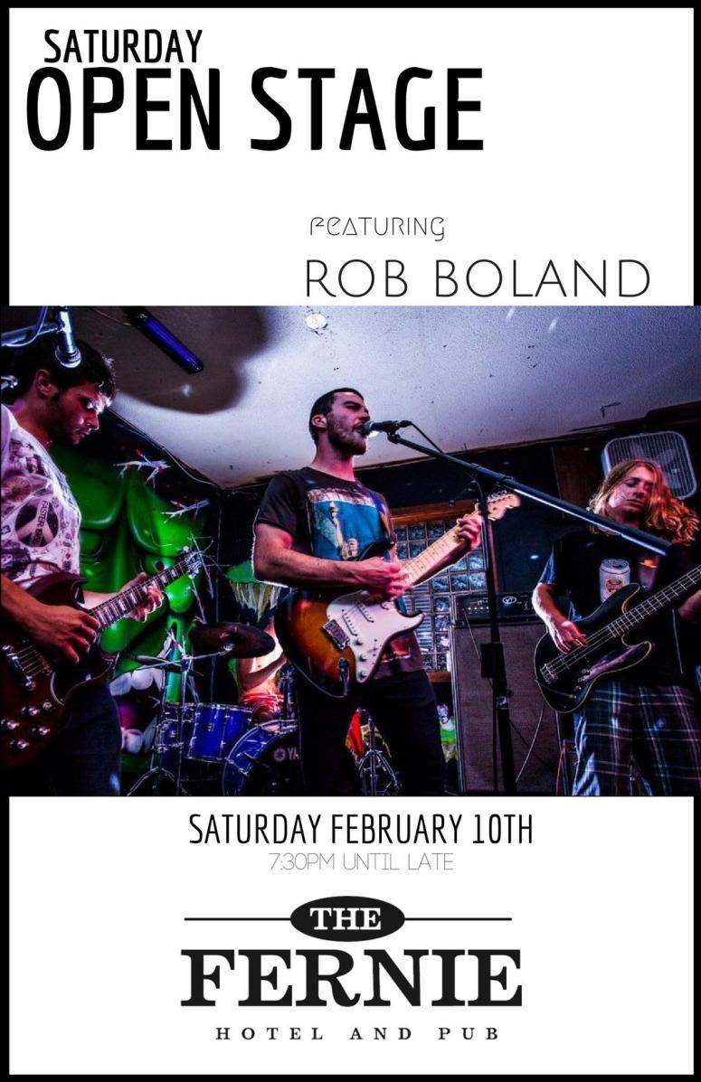 Feb 10 2018 Rob Boland