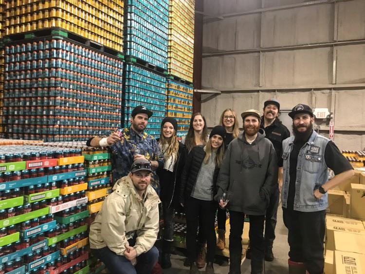 Staff 2017_2018 beer tour
