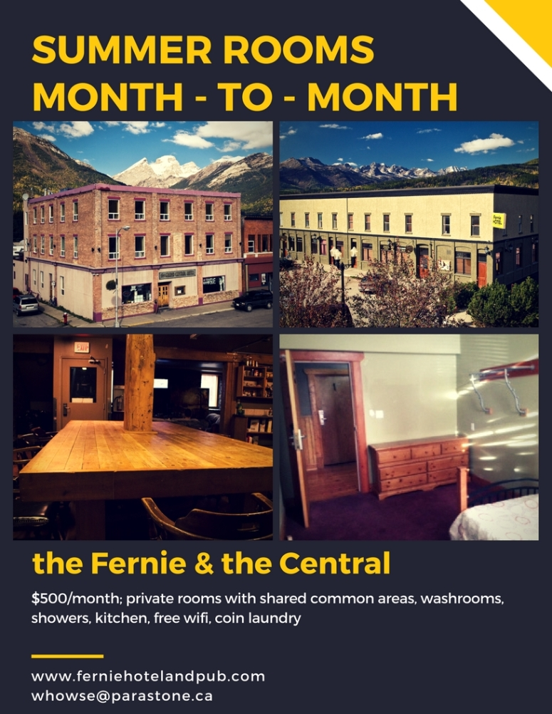 Summer monthly accommodation
