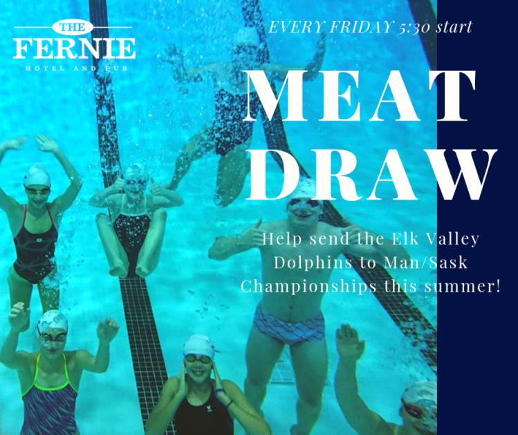 swim club facebook meat draw